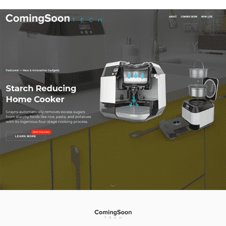 Coming Soon- Tech & Gadgets — Innovative New Products