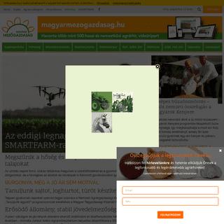 ArchiveBay.com - magyarmezogazdasag.hu - magyarmezogazdasag.hu az Agrárhírportál