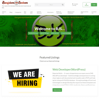 BJS - Bangalore Job Seekers