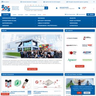 Elektronikai alkatrészek - SOS electronic