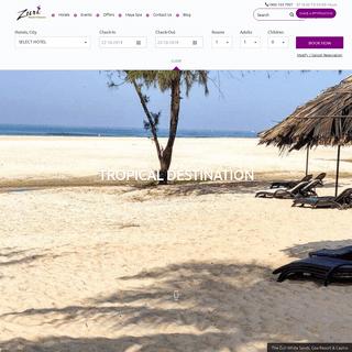 ArchiveBay.com - thezurihotels.com - Luxury 5 Star Hotels & Resorts in India - Zuri Hotels & Resorts
