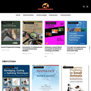 Veterinary Discussions- Veterinary Books PDF