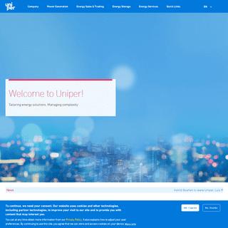 Homepage - Uniper