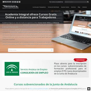 ArchiveBay.com - academiaintegral.com.es - Cursos Gratis Online para Trabajadores. Cursos gratuitos para empresas