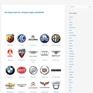 Car logos and car company logos worldwide – Car logos and car company logos worldwide