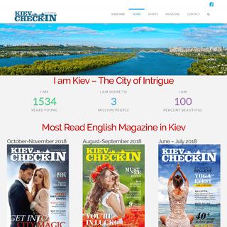 KievCheck-in Magazine- Explore the Best of Kyiv - Fun & Business