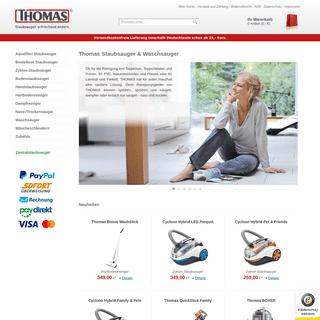 Thomas Staubsauger & Waschsauger - Robert-Thomas-Shop.de