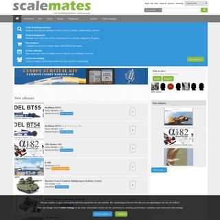 Scalemates, scale modeling database - stash manager