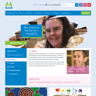 Minda - Disability Support Services