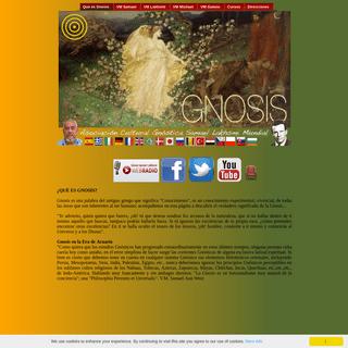 Sitio internet oficial de la Asociacion Cultural Gnostica Samael Lakhsmi