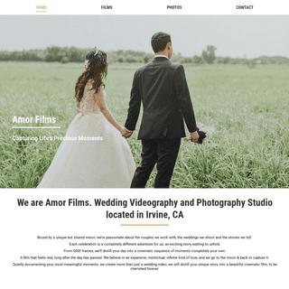 Amor Films - Wedding Videography and Photography Studio