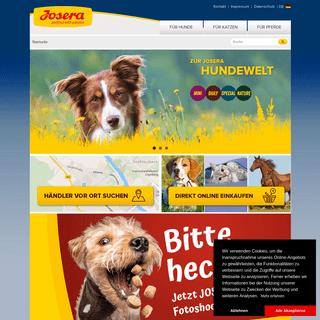 JOSERA – Erstklassige Tiernahrung und Tierfutter Made In Germany