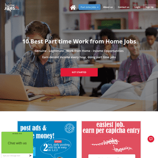 Part time Home Jobs - Work from Home - Online Paid Jobs - Genuine Home Jobs - Make Money Online at homejobsinus.us