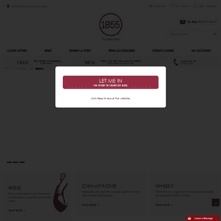 A complete backup of 1855thebottleshop.com