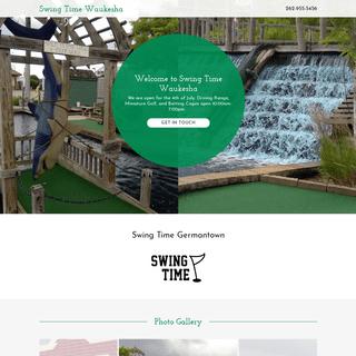 Swing Time Waukesha - Mini Golf, Batting Cages, Driving Range