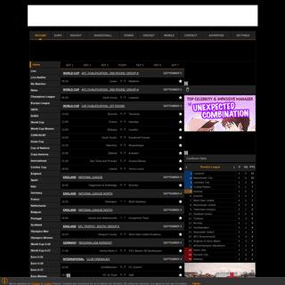 Live Soccer Scores and Sport Results - LiveScore.com