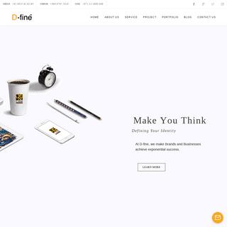 D-fine Digital Marketing - Branding - Web designing agency in Malappuram,Kerala