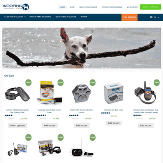 woofingdog - Stop the barking dog!