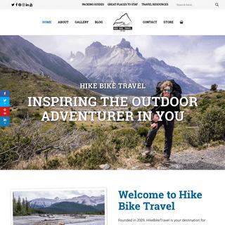 Hike Bike Travel - Inspiring The Outdoor Adventurer In You