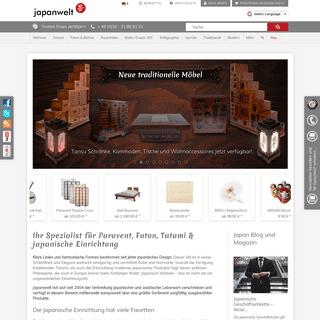 Paravent, Futon und Tatami in Berlin bei Japanwelt online günstig kaufen