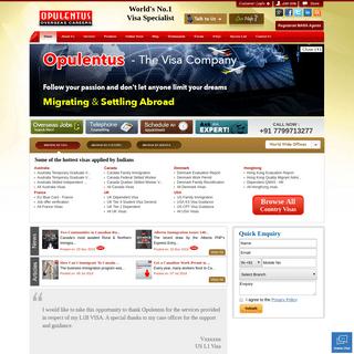 immigration services and visa consultants in india -Opulentuz