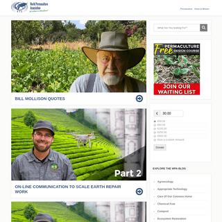 World Permaculture Association - We Believe In Abundance!