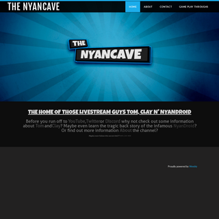 The NyanCave - The NyanCave YouTube Gaming - Twitch Live Streamers