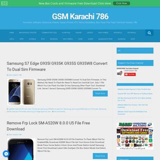 GSM Karachi 786