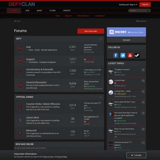 Forums - DEFYclan.com