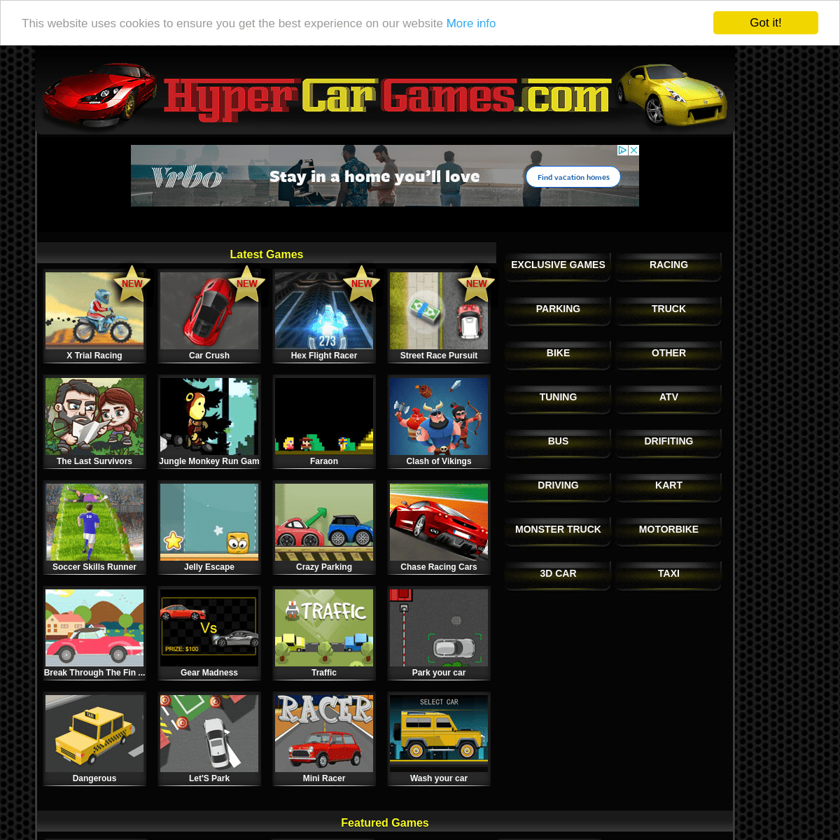 Car Games and Racing Games