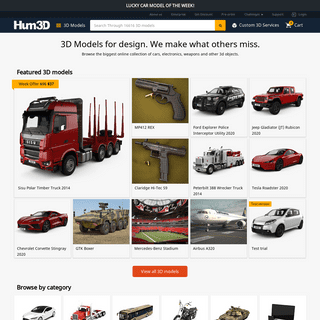 ArchiveBay.com - hum3d.com - Best 3D models of Cars, Objects and more - Hum3D store