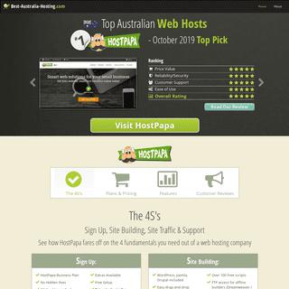 Best Australian Web Hosting Reviews