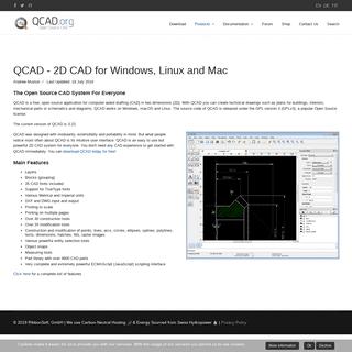 QCAD - 2D CAD