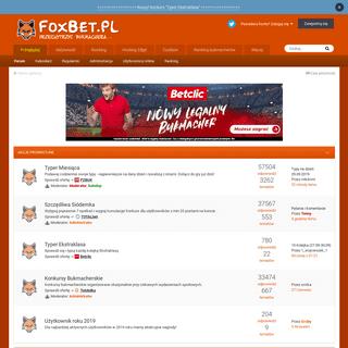 FoxBet - Forum Bukmacherskie
