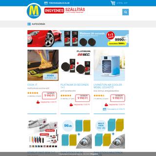 MediaShop Magyarország - a TV-ből ismert eredeti termékek webáruháza. Több száz innovatív termék verhetetlen áron.