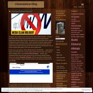 ArchiveBay.com - mizanuladyan.wordpress.com - MIZANULADYAN BLOG - Timbangan Agama-agama lewat pemikiran,analisa dan tulisan
