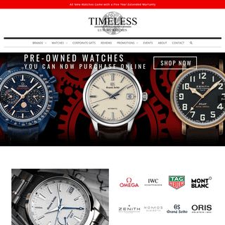 Home - Timeless Luxury Watches