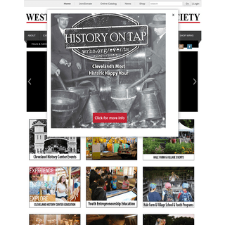150th Home - Western Reserve Historical Society