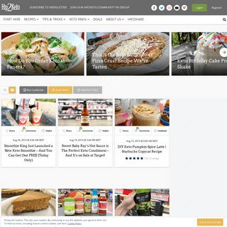 Hip2Keto - Keto Recipes, Tips and Tricks, Products We love. We Make Keto Fun!