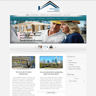 Open Source Capital LLC - real estate investing