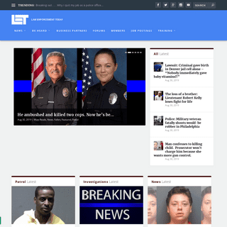 ArchiveBay.com - lawenforcementtoday.com - Law Enforcement Today - Your source for cutting-edge law enforcement articles and information.