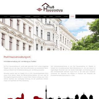 Pruß Hausverwaltung e.K. - WEG-Verwaltung - Mietverwaltung - Vermietung - Makler - Verkauf
