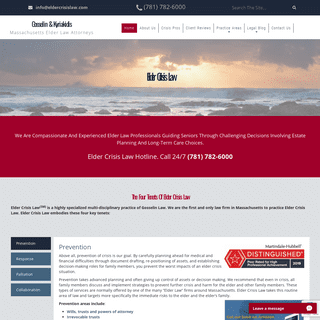 Boston Elder Law Lawyers - Palliative Care Attorneys - Massachusetts