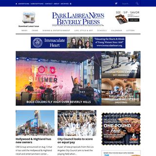 Park Labrea News & Beverly Press - Local news since 1946.Park Labrea News- Beverly Press