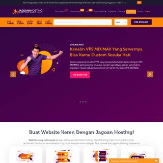 Jagoan Hosting- Web Hosting Indonesia, Cloud Hosting & VPS