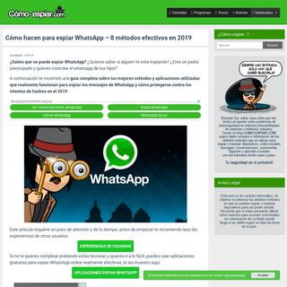 8 métodos Espiar WhatsApp Gratis ▷【Saber si te pueden Hackear】