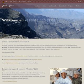 Oman Reisen von den Experten aus München- Arabia Felix