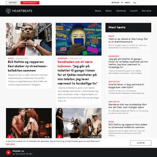 Forside » Heartbeats - artikler, podcast, nyheder og radio.