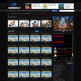 Watch Anime Online Free - Anime Episodes, Movies and OVAs