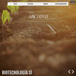ArchiveBay.com - biotecnologiasi.tumblr.com - Biotecnología Sí